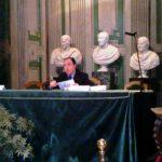 01 - Alessandro Gigli, presidente AICTC 2011, legge il programma della mattina